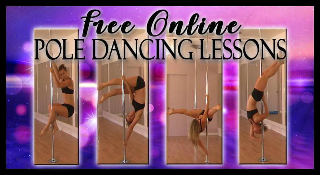 FREE online pole dancing lessons classes