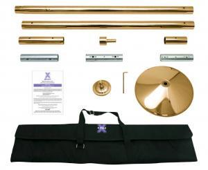 Brass X Pole XPert Dance Pole Kit