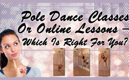 girl thinking about taking pole dance classes