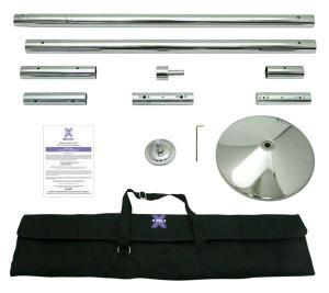 Stainless Steel X Pole XPert Dance Pole Kit