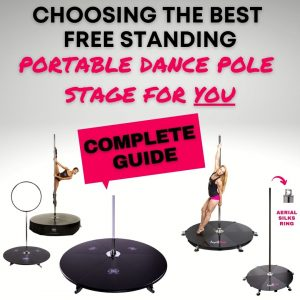 How to choose the best brand freestanding portable dance pole stage