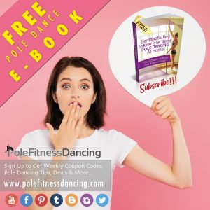 A girl is shocked by the pole fitness dancing free ebook deal