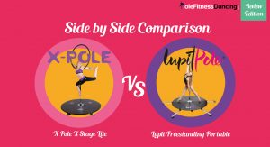 REVIEW Side by Side Comparison X Pole X Stage Lite & Lupit Freestanding Portable Dance Pole Stage